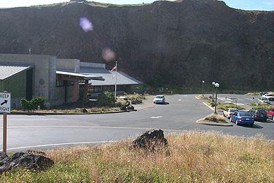 Visitor center at Newport's Yaquina Head