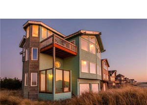 Cannon beach lodging comprehensive list vacation for Beach house rentals cannon beach