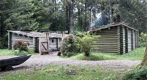 Fort Clatsop, where the Lewis & Clark Trail Series happens