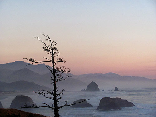 Like Day and Night on Oregon Coast: Shades of Cannon Beach