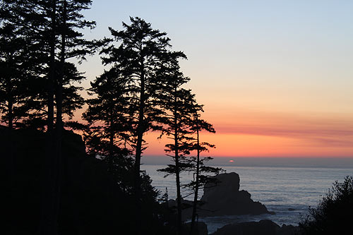 Cannon Beach, Ecola State Park sunset
