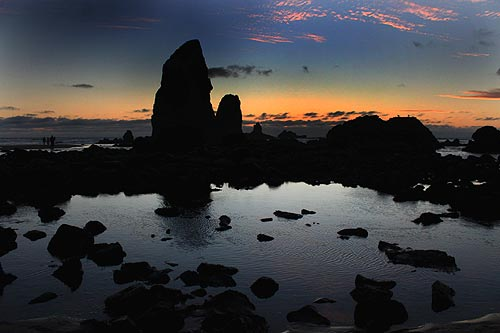 August 20 will be a good time to head to the north Oregon coast if you want to know more about Cannon Beach's famed Haystack Rock