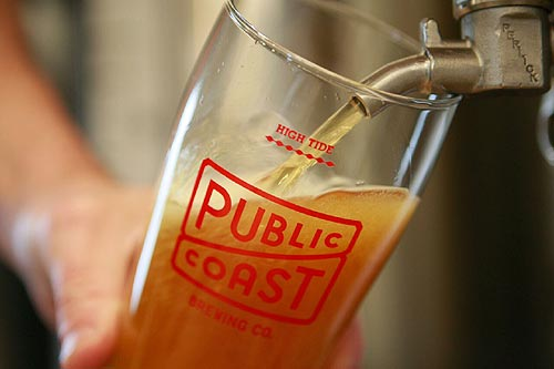 Martin Hospitality gave birth to Public Coast Brewing Co. earlier this month in Cannon Beach