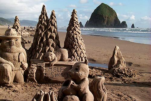 Cannon Beach Oregon The Famed North Coast Town Of Has Announced Its Plans For Even More Celebrated Sandcastle