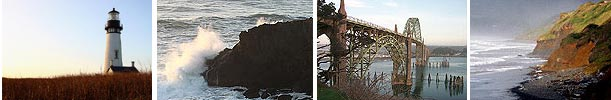 Newport, Oregon collage