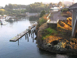 Oregon coast in the spring newport depoe bay events Depoe bay aquarium