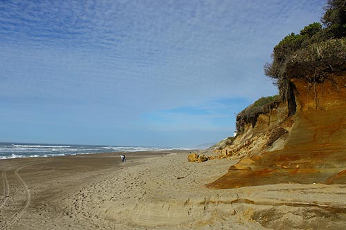 An oregon coast virtual tour gleneden beach state park for Fishing in lincoln city oregon