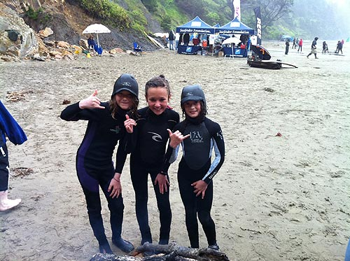 Youth Surfing Event and Car, Motorcycle Show on Central Oregon Coast