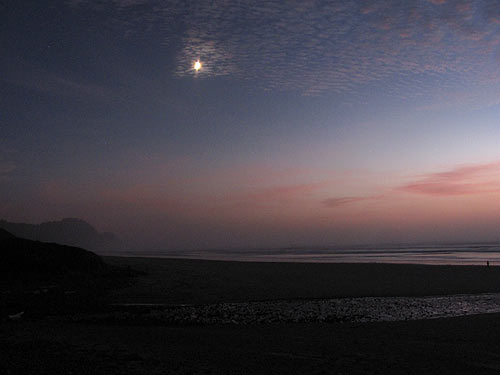 Equinox South Beach >> Compendium of Astronomy, Star Shots from Oregon Coast at Night