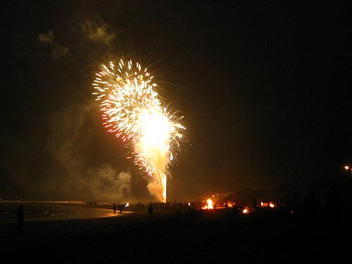Fourth of July in Rockaway Beach)
