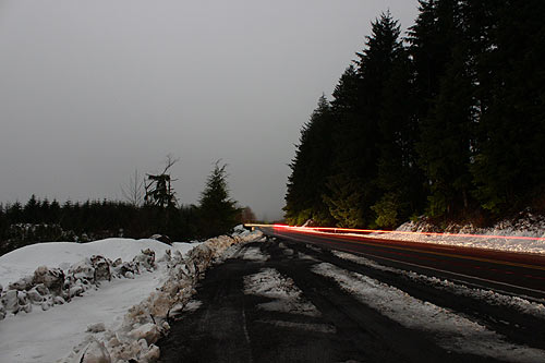 Oregon Coast Range Highways to Get Snow; Huge Waves Continue