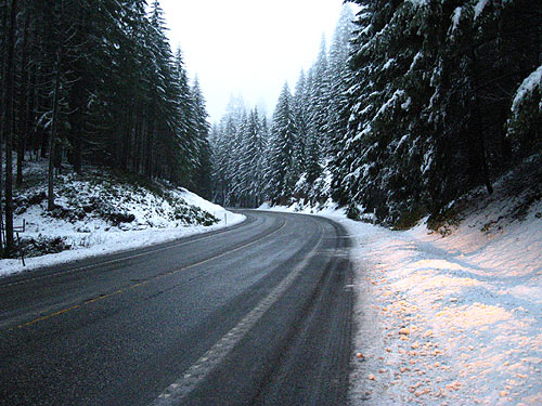 Oregon Coast Gets Snow This Week; Possibly Scary Commute for Portland