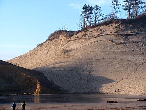 The Great Dune Of Cape Kiwanda Three Capes Oregon Coast