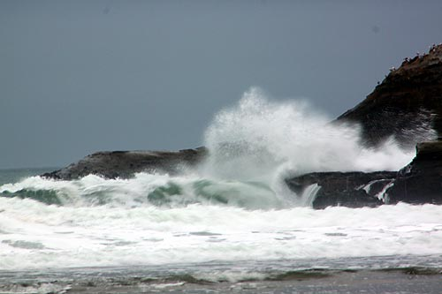 Cape Kiwanda  storm waves