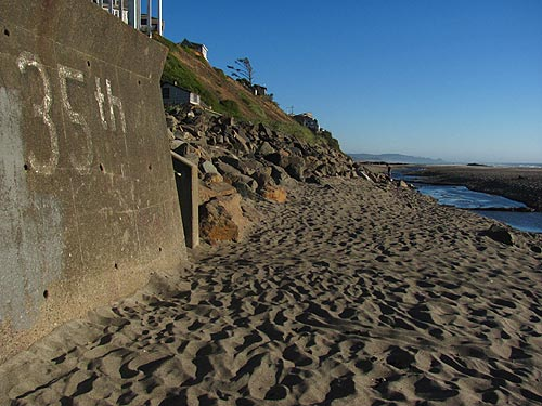 Nelscott District And Beaches Sand Levels Lincoln City