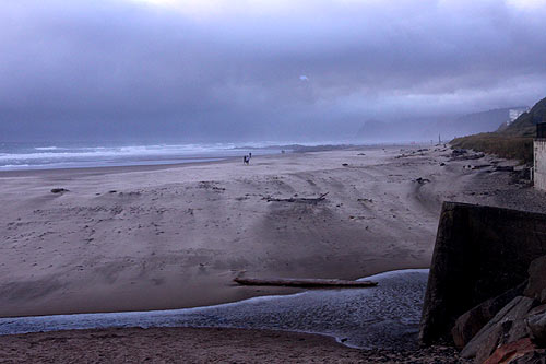 D River Beach in Lincoln City