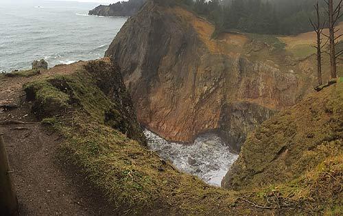 N Oregon Coast Earth Day Hike To Devil S Cauldron Short