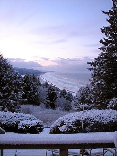 Snow Update Oregon Coast Range Beaches Portland Traffic