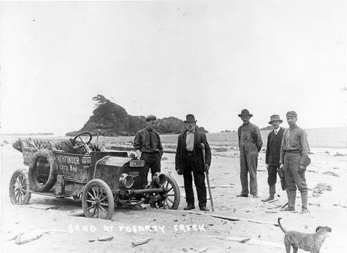 Oregon Coast History Life Before Highway 101 When Beaches Were Roads