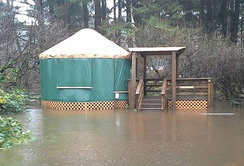 Another Round Of High Winds Floods For Oregon Coast