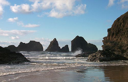 Storm Ravaged Parts Of N Oregon Coast Not Only Open But