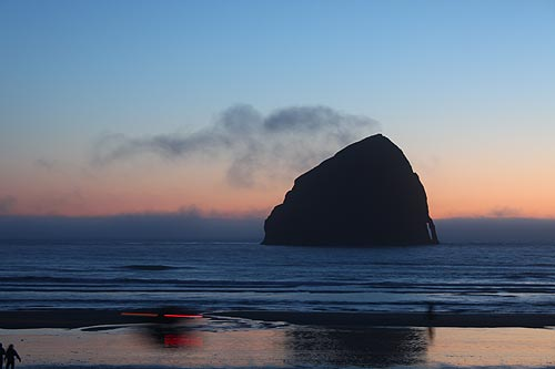 Photo: Pacific City, where lots happens this spring