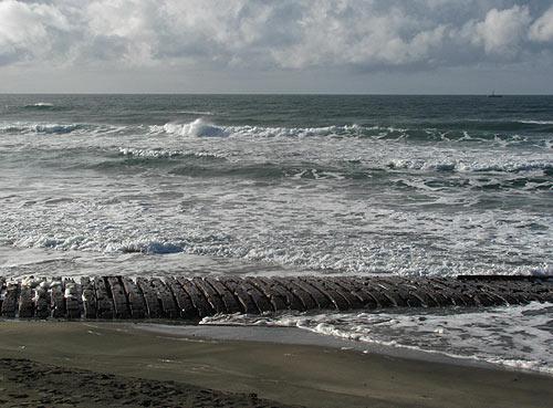 Rare Ghostly Shipwreck Emerges Again On Oregon Coast