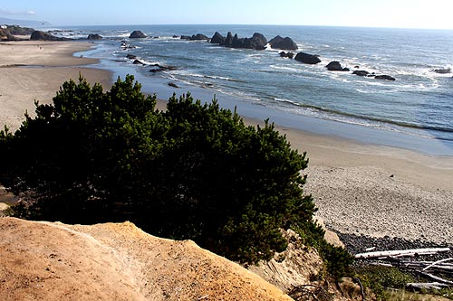 Seal Rock, central Oregon coast