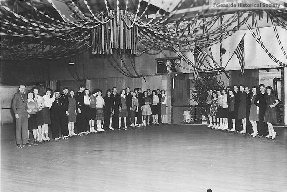 the Bungalow Dance Hall in Seaside in the early '60s