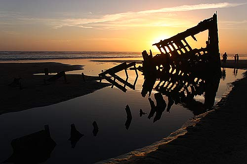 wreck of the Peter Iredale: a spring break must-see