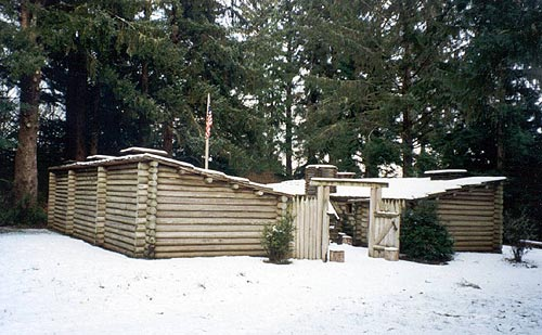 Photo: Fort Clatsop, Lewis and Clark National Historical Park
