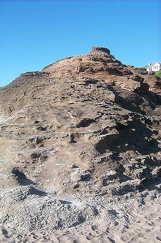 Winema Beach Weird Rock Blob Lincoln City Oregon