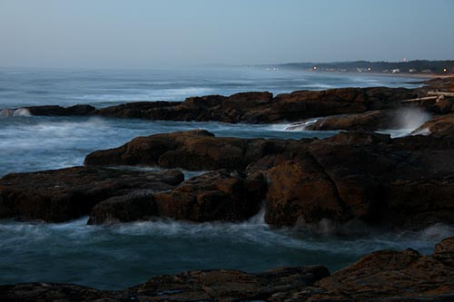 Sightseeing Ideas: the Ghost Waves of Yachats, Central Oregon Coast