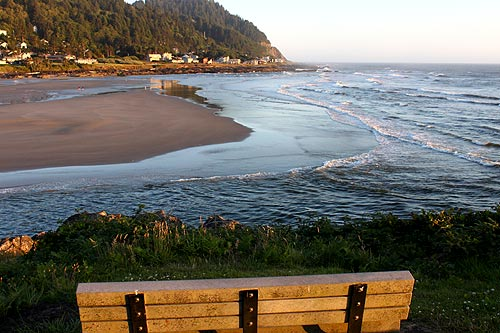 Yachats on the central Oregon coast