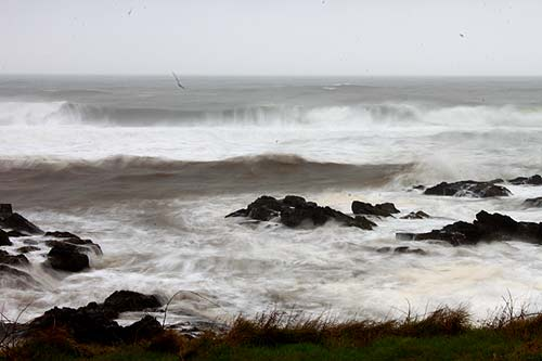 Week of Wild Waves for Oregon Coast, High Wind Warning Early Monday